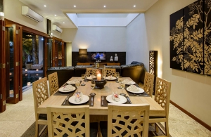Villa Michelina - Dining & living room